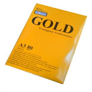 کاغذ A3 گلد (پرتقال)بسته 500 عددی