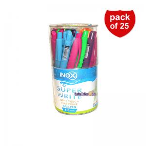 خودکار رنگی فشاری inox
