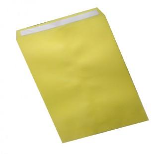 پاکت اداری سایز A5 زرد سر چسب دار