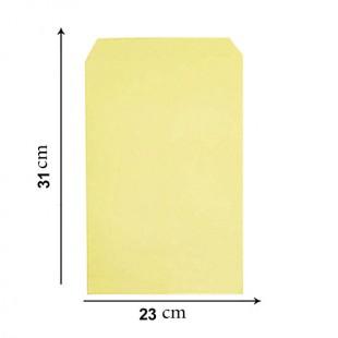پاکت زرد A4 ایرانی 110 گرم