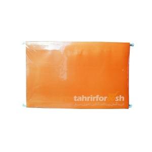 پوشه فایل گیره فلزی نارنجی