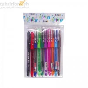 خودکار 10 رنگ launtu
