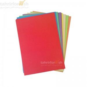 کاغذ 10 رنگ بسته 100 عددی