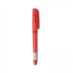 خودکار قرمز صدف مدل مخملی