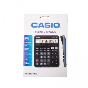 ماشین حساب casio DJ120 PLUS