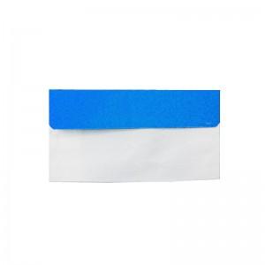 پاکت نامه ملخی درب رنگی آبی روشن