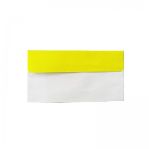 پاکت نامه ملخی درب رنگی زرد