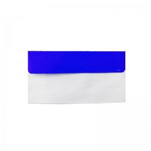 پاکت نامه ملخی درب رنگی آبی