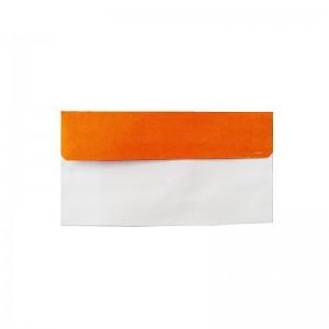 پاکت نامه ملخی درب رنگی نارنجی
