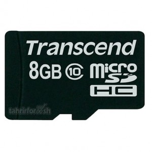 کارت حافظه Transcend Micro SD 8 GB