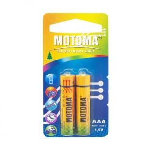 باتری نیم قلمی motoma بسته 2 عددی