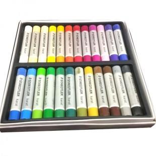 پاستل روغنی 24 رنگ استدلر مدل کارات 2420