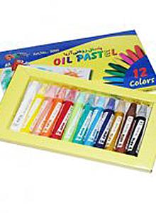 پاستل و مداد شمعی - پاستل کارتن نویس