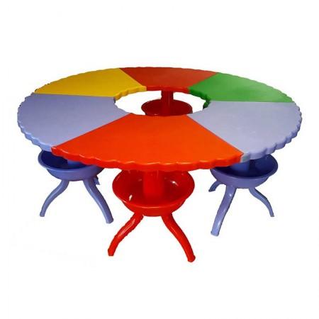 میز چندکاره کودک مدل مدولار