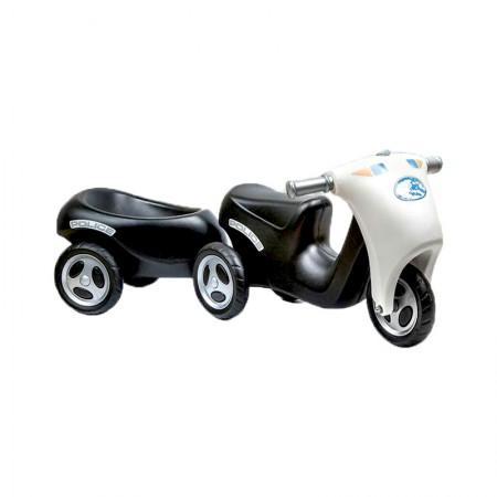 موتورپایی با یدک کش مشکی nowbaweh