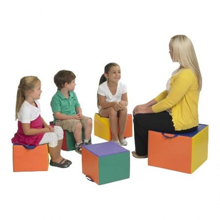 صندلی فومی معلم و شاگرد 5 تکه