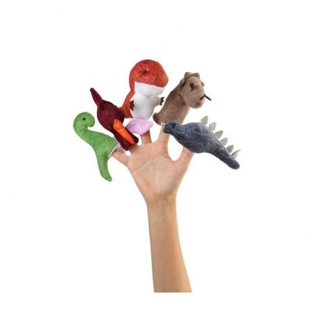 عروسک انگشتی دایناسورها