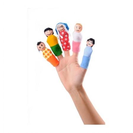 عروسک انگشتی خانواده