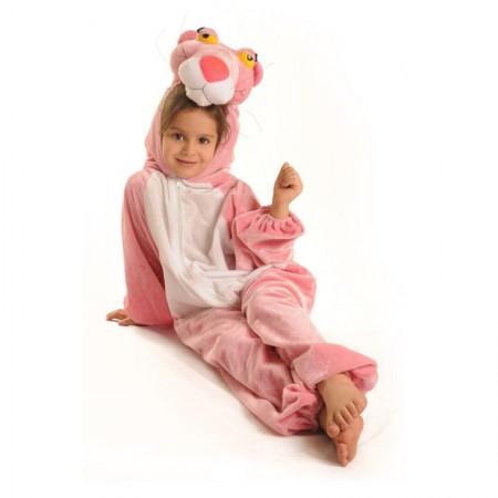 لباس نمایش کودک مدل پلنگ صورتی