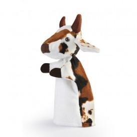عروسک دستی گاو