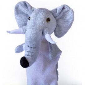عروسک دستی فیل