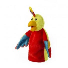عروسک دستی طوطی