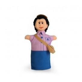 عروسک دستی پستچی