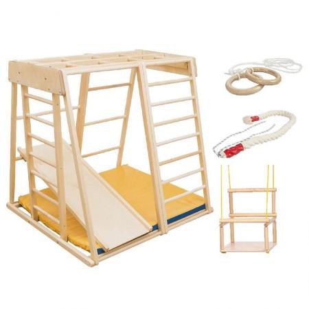 مجموعه چوبی ورزشی سازه نردبانی کد 1208
