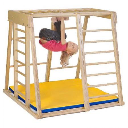 مجموعه چوبی ورزشی سازه نردبانی کد 1201