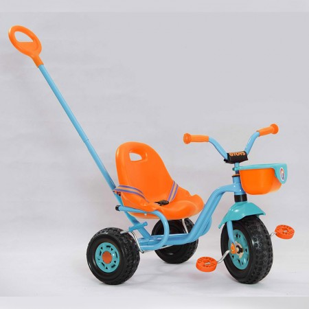 سه چرخه کودک با دسته هدایت والدین مدل میکی