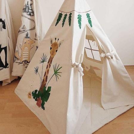 چادر بازی کودک مدل زرافه