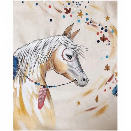 چادر بازی کودک مدل سرخپوستی طرح اسب