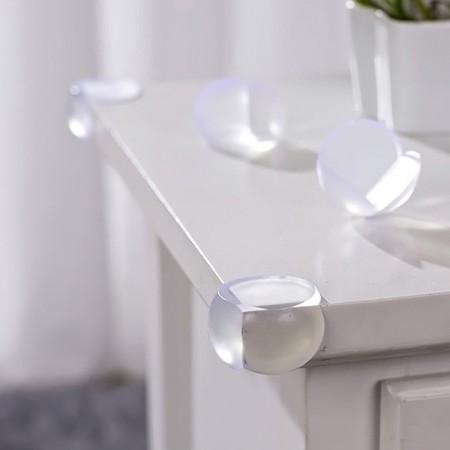 محافظ گوشه گرد برای لبه های L شکل رنگ شفاف 4 عددی ninno