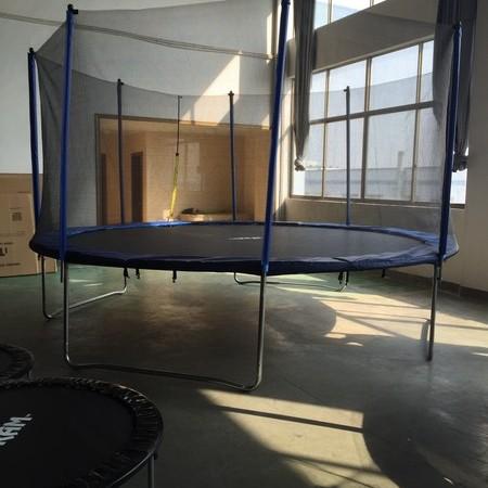 ترامپولین فضای باز  4 متر یا 14 فوت برند itram