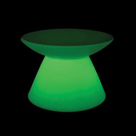 میز نورانی (led) غذاخوری مخروطی ارتفاع 110 سانتیمتر