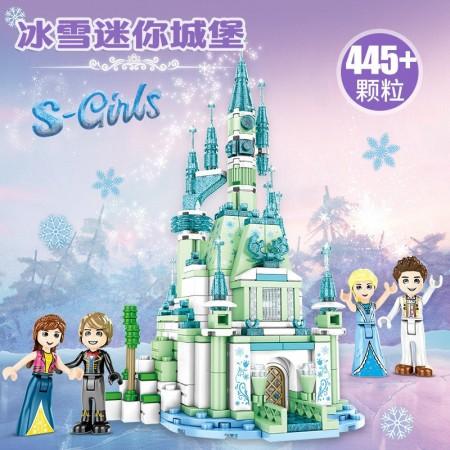 لگو بازی دخترانه مدل قلعه یخی کد 6577-SY