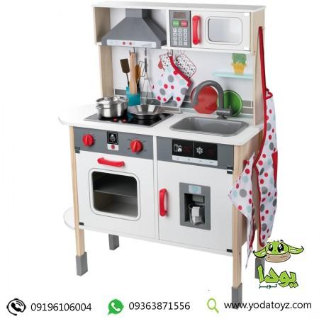 آشپزخانه چوبی کودک بزرگ برند Lidl Wooden Toy Kitchen