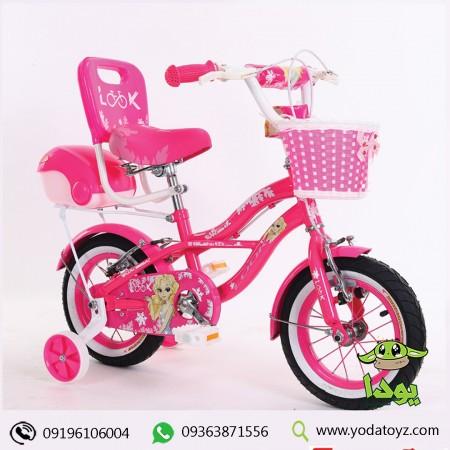 دوچرخه بچه سایز 12 فنر دار برند LOOK مدل summer