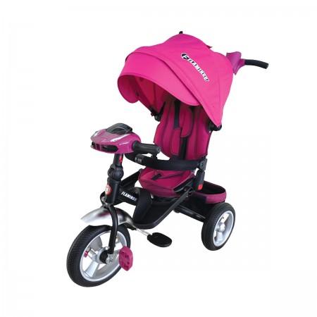 سه چرخه کالسکه ای کودک صندلی گردان مدل T400