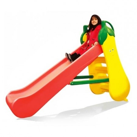 سرسره بلند خانگی و مهد کودکی مدل موز (4 پله)