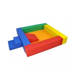 استخر توپ فومی مربع