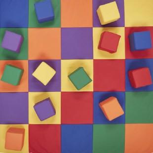 خرید سازه فومی مدل فرش و مکعب رنگی