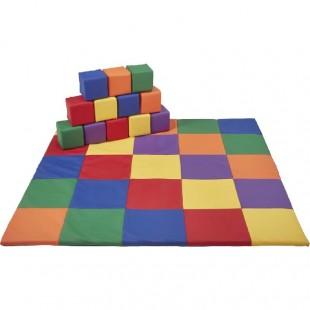قیمت سازه فومی مدل فرش و مکعب رنگی