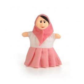 عروسک دستی مادر