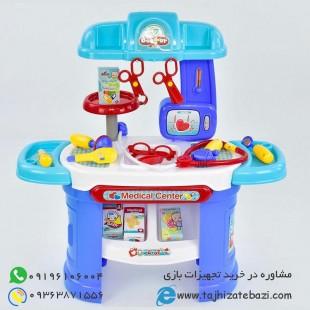 میز تجهیزات پزشکی پلی اتیلنی کودک-بازی مشاغل