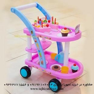 ترولی کیک تولد