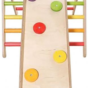 مجموعه چوبی ورزشی سازه نردبانی کد 1204