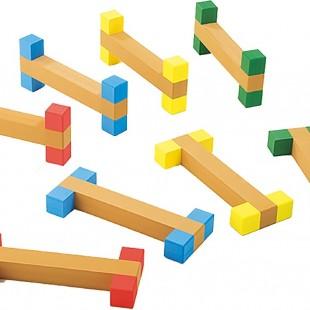 مجموعه چوبی ورزشی سازه نردبانی کد 1210