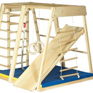 مجموعه چوبی ورزشی سازه نردبانی کد 1211