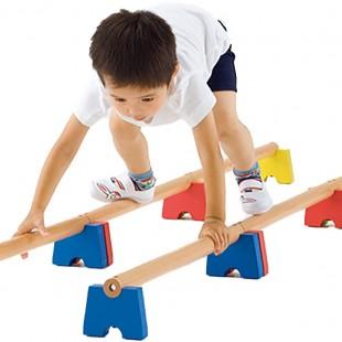مجموعه چوبی ورزشی آجر های چوبی 100 سانتیمتری کد 1212